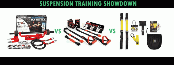 TTV Top Value: Suspension Training I.M. Rings, TRX, and XT Jungle Gym